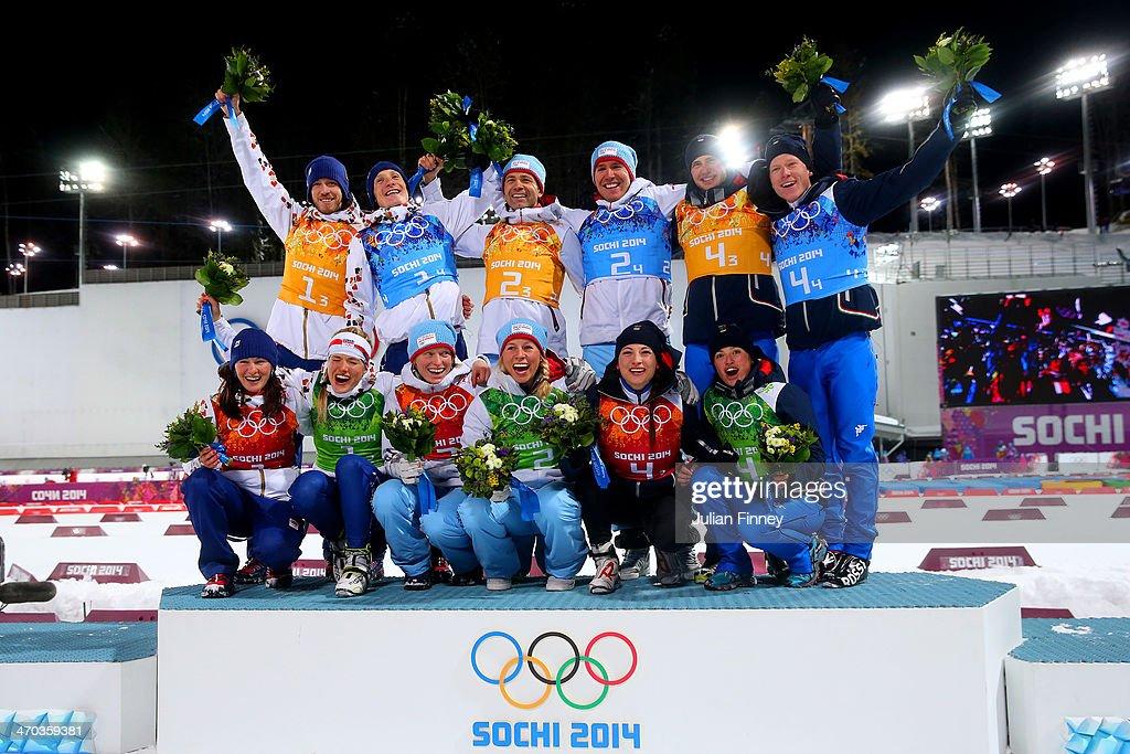 Biathlon - Winter Olympics Day 12