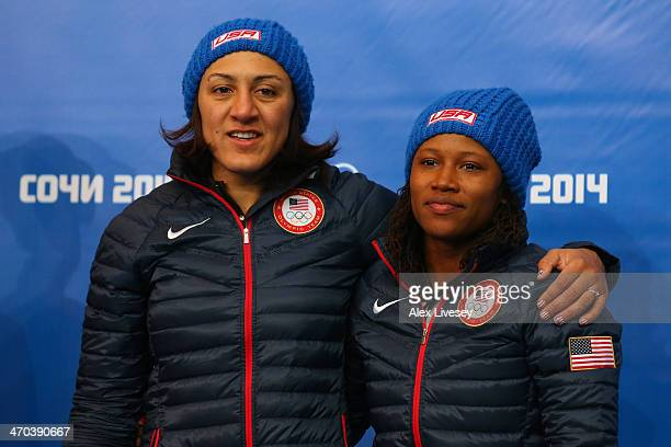 Elana Meyers Foto e immagini stock | Getty Images