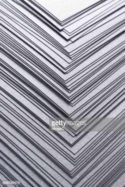 Silver Paper Stacking Background