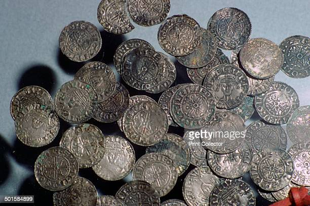 Silver pennies of William I part of a hoard of 600 silver pennies deposited in Jubbergate York They would have purchased 2000 sheep at the time