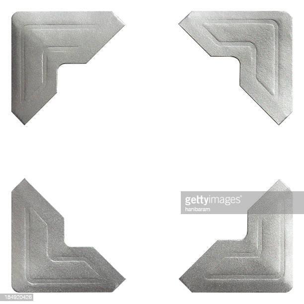 Silver Photo Corner