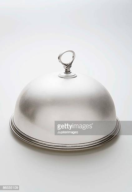 Silver plated Dome Plate cover