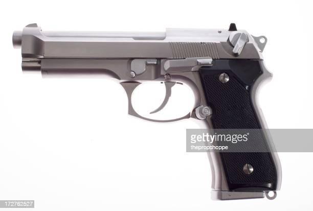 Silver Pistolet Semi-automatique