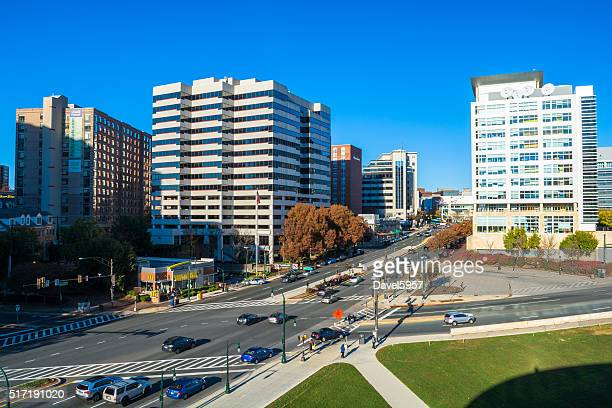Silver Spring downtown view