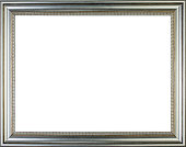 Silver vintage picture frame