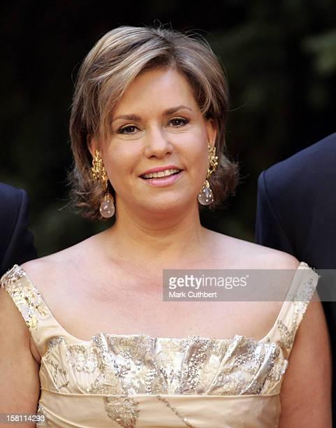Silver Wedding Anniversary Celebrations Of Grand Duke Henri Grand Duchess MariaTheresa Of LuxembourgGala Dinner At The Chateau De Berg
