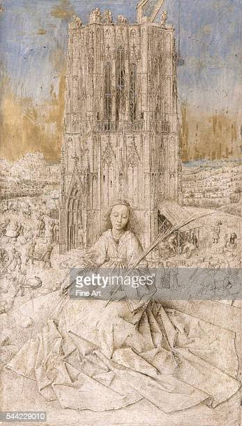 1437 Silverpoint drawing with china ink and oil on wood 31 x 18 cm Museo ThyssenBornemisza Madrid Spain