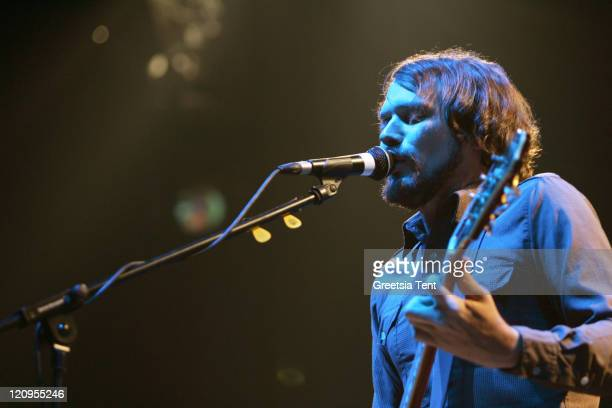 Silversun Pickups perform on stage at the Heineken Music Hall on November 14 2007 in Amsterdam The Netherlands