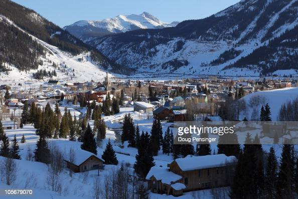 Silverton nestled in the San Juan Mountains is the host town for snowsport enthusiests that visit Silverton Mountain on March 12 2010 in Silverton...