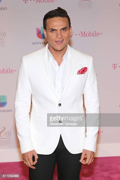 Silvestre Dangond attends Univision's 28th Edition of Premio Lo Nuestro A La Musica Latina on February 18 2016 in Miami Florida