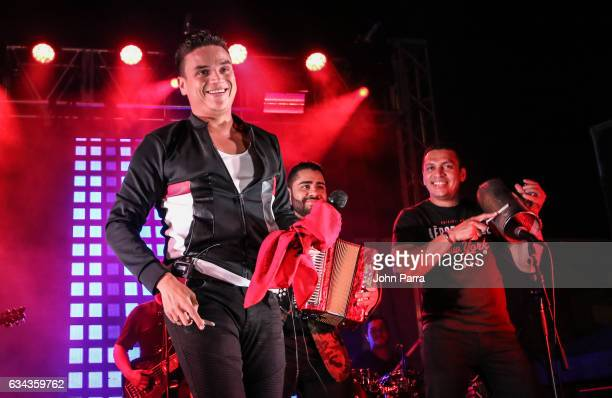 Silvestre Dangond performs in a Parranda Privada Concert on February 8 2017 in Miami Florida