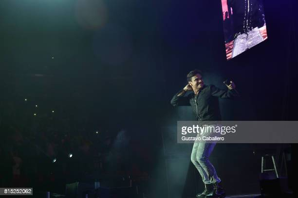 Silvestre Dangond performs In Concert at American Airlines Arena on July 15 2017 in Miami Florida