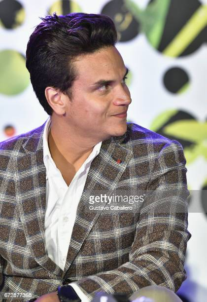 Silvestre Dangond speaks at the Billboard Latin Conference 2017 at Ritz Carlton South Beach on April 25 2017 in Miami Beach Florida