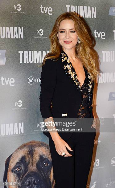 Silvia Abascal attends the 'Truman' premiere at Palafox Cinema on October 26 2015 in Madrid Spain