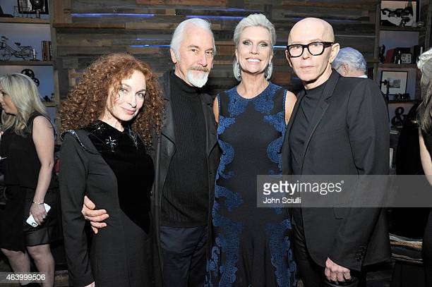 Silvia Abascal makeup artist Rick Baker James Gager Senior Vice President and Group Creative Director MAC Cosmetics and Karen Buglisi Weiler Global...