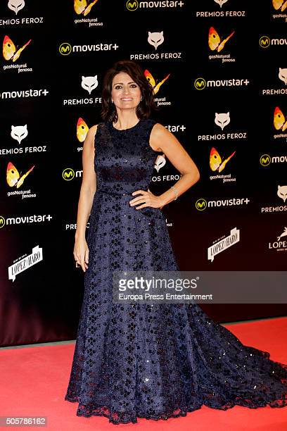 Silvia Abril attends Feroz Awards 2016 red carpet on January 19 2016 in Madrid Spain