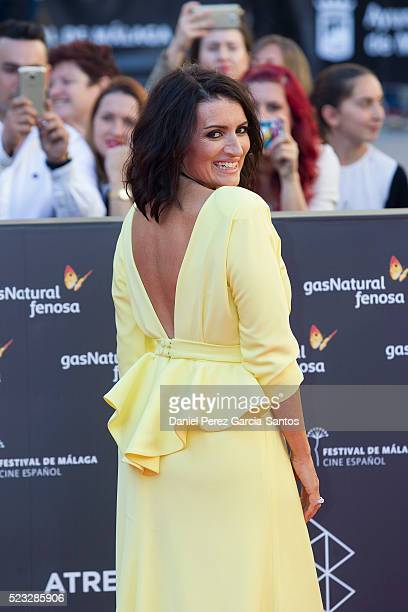 Silvia Abril attends the 19th Malaga Spanish Film Festival at the Cervantes Theater on April 22 2016 in Malaga Spain