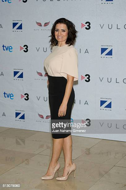 Silvia Abril attends 'Vulcania' photocal at Cines Princesa on February 29 2016 in Madrid Spain
