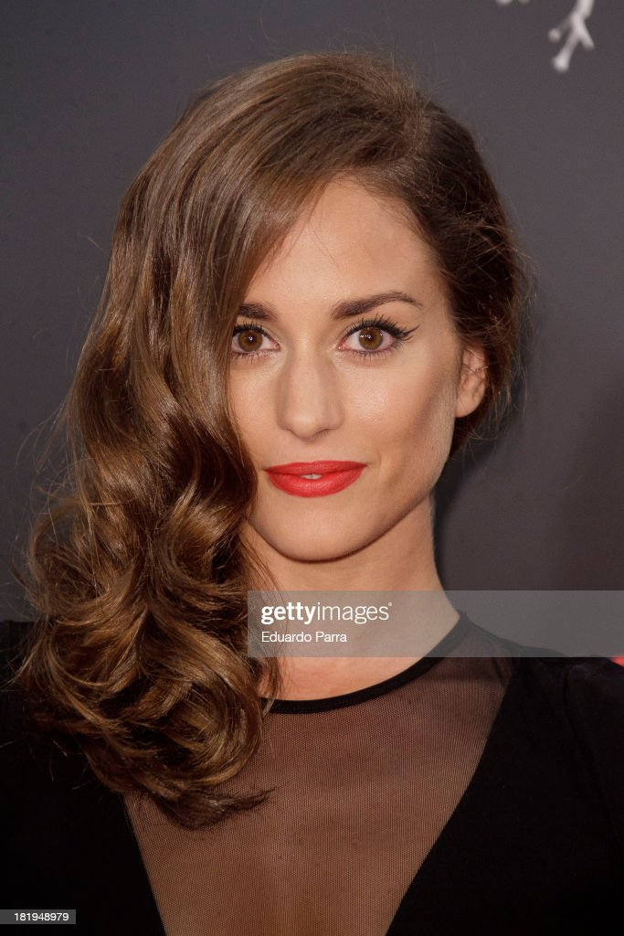 Silvia Alonso attends 'Las brujas de Zugarramurdi' premiere photocall at Kinepolis Cinema on September 26, 2013 in Madrid, Spain.
