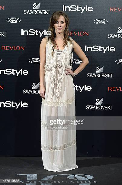 Silvia Alonso attends the InStyle Magazine 10th anniversary party at Gran Melia Fenix Hotel on October 21 2014 in Madrid Spain