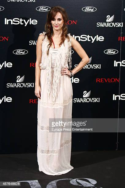 Silvia Alonso attends the InStyle Magazine 10th anniversary party on October 21 2014 in Madrid Spain