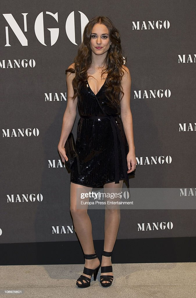 Silvia Alonso attends the launch of Mango new spring/summer 2011 collection at the Palacio de Cibeles on November 16, 2010 in Madrid, Spain.