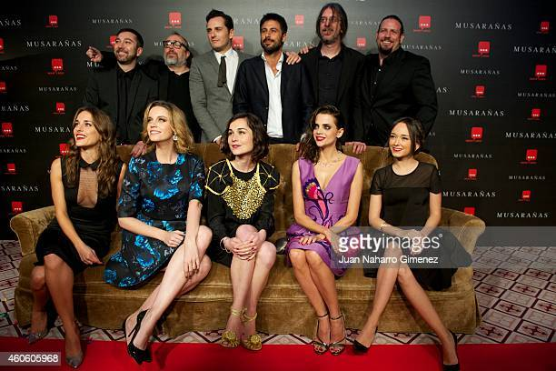 Silvia Alonso Carolina Bang Nadia de Santiago Macarena Gomez Lucia de la Fuente Alex de la Iglesia Asier Etxeandia and Hugo Silva attend the...