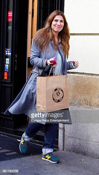 Silvia Casas is seen on January 7 2015 in Madrid Spain