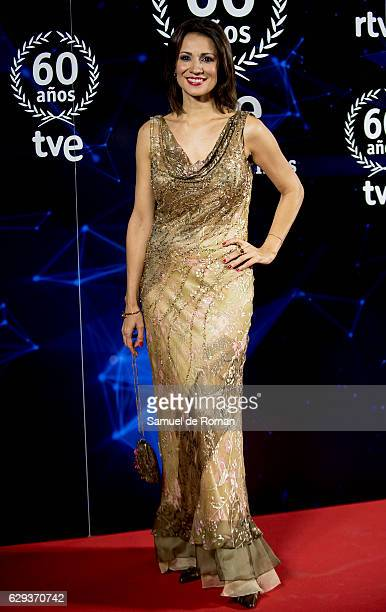 Silvia Jato atteds to '60 Anos Juntos' TVE Gala Photocall on December 12 2016 in Madrid Spain