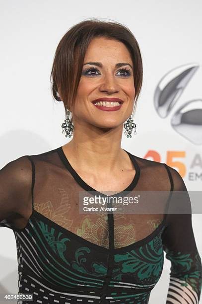 Silvia Jato attends Antena 3 TV Channel 25th anniversary party at the Palacio de Cibeles on January 29 2015 in Madrid Spain