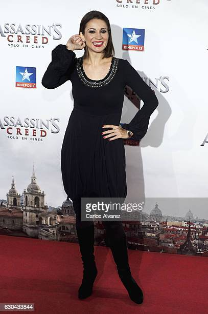 Silvia Jato attends 'Assassin's Creed' premiere at Kinepolis cinema on on December 22 2016 in Madrid Spain