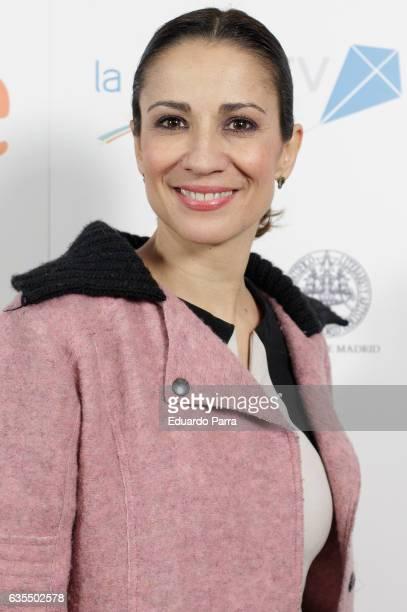 Silvia Jato attends the 'La Princesa Paca' photocall at Ateneo on February 15 2017 in Madrid Spain