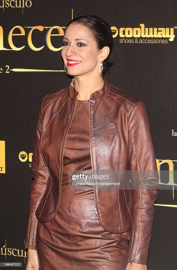 Silvia Jato attends the premiere of 'The Twilight Saga: Breaking Dawn - Part 2' (La Saga Crepusculo: Amanecer- Parte 2) at kinepolis Cinema on November 15, 2012 in Madrid, Spain.