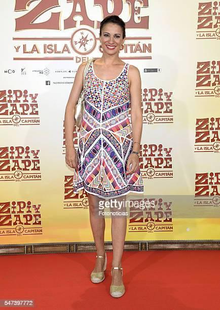 Silvia Jato attends the 'Zipi y Zape y La Isla del Capitan' premiere at the Capitol cinema on July 14 2016 in Madrid Spain