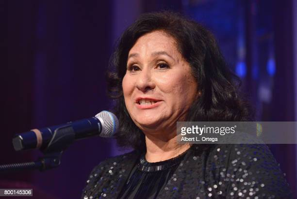 Silvia Leyva attends the Entertainment AIDS Alliance's Annual EAA Wine Wisdom Vision Event Benefiting Village Health Foundation And UCLA CARE Center...