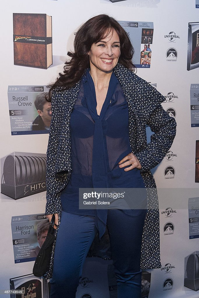 <a gi-track='captionPersonalityLinkClicked' href=/galleries/search?phrase=Silvia+Marso&family=editorial&specificpeople=605747 ng-click='$event.stopPropagation()'>Silvia Marso</a> attends Paramount Cinema Party at Tiffany's on December 18, 2013 in Madrid, Spain.