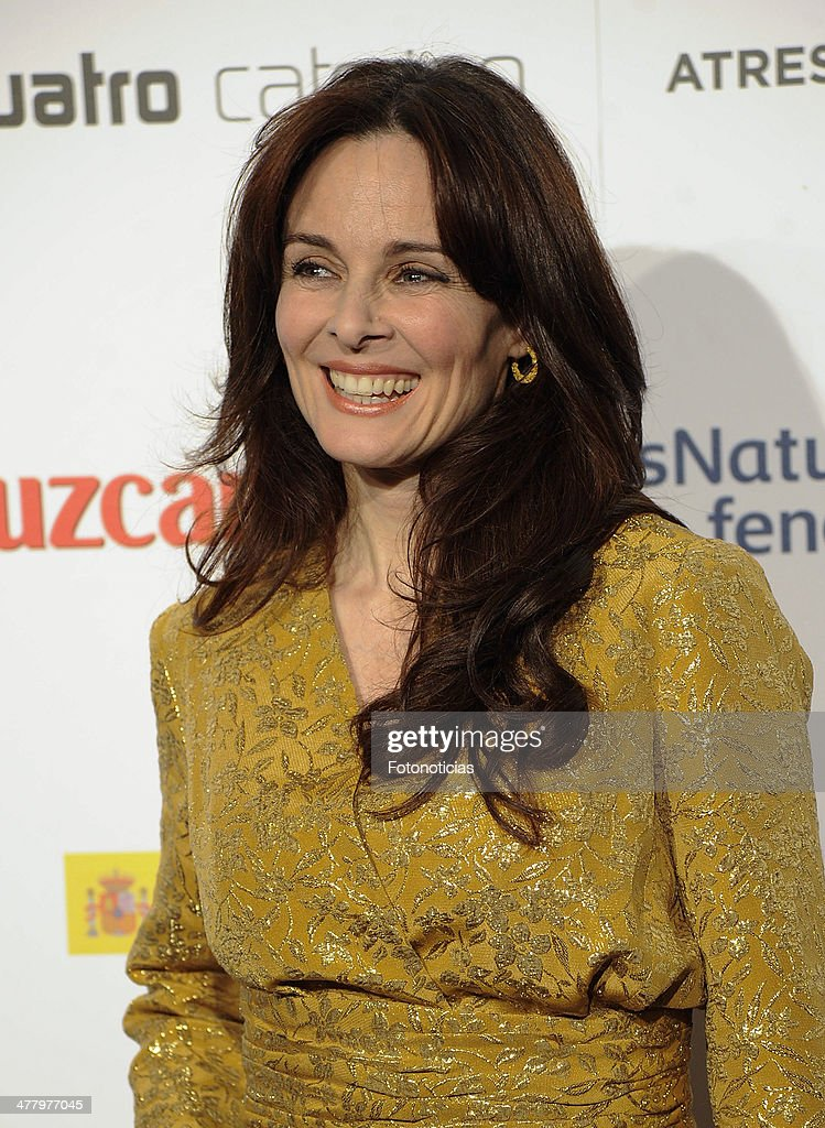 <a gi-track='captionPersonalityLinkClicked' href=/galleries/search?phrase=Silvia+Marso&family=editorial&specificpeople=605747 ng-click='$event.stopPropagation()'>Silvia Marso</a> attends the Malaga Film Festival cocktail presentation at TClub on March 11, 2014 in Madrid, Spain.