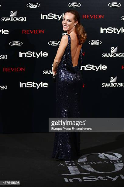 Silvia Marti attends the InStyle Magazine 10th anniversary party on October 21 2014 in Madrid Spain