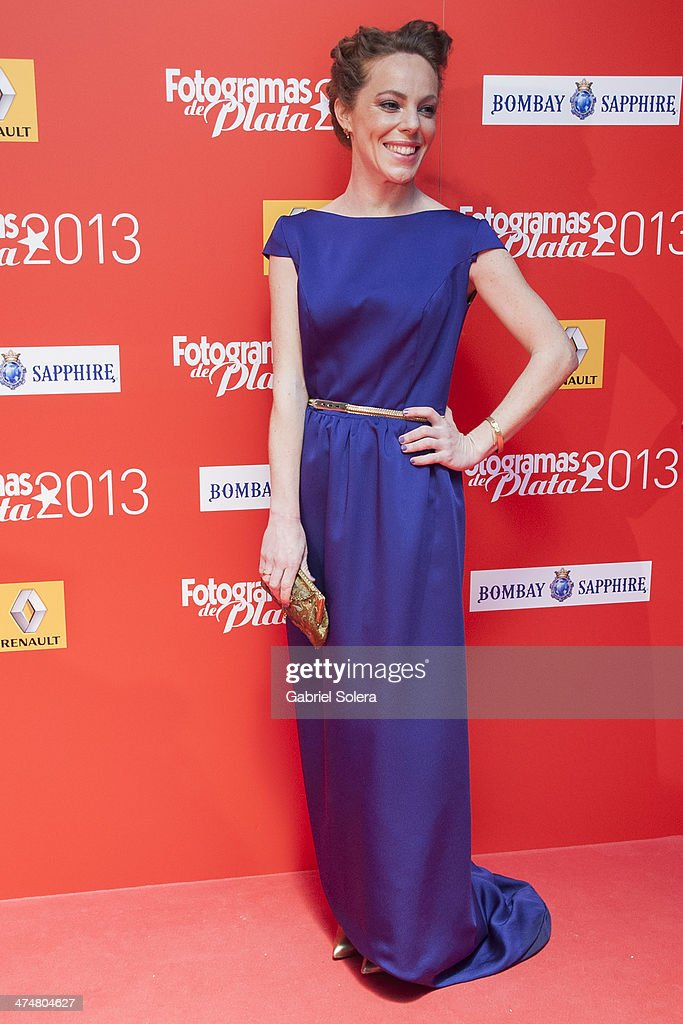 Silvia Marty attends the 'Fotogramas Awards' 2013 at Joy Slava on February 24, 2014 in Madrid, Spain.