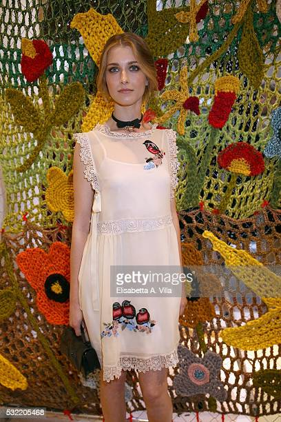 Silvia Mazzieri attends RED Valentino Boutique Opening Party at Via del Babuino on May 18 2016 in Rome Italy