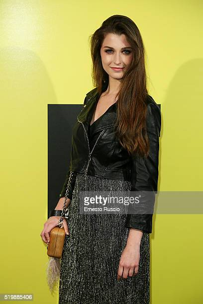 Silvia Mazzieri attends the 13rd Fabrique Du Cinema Presentation at Capitol Club on April 8 2016 in Rome Italy