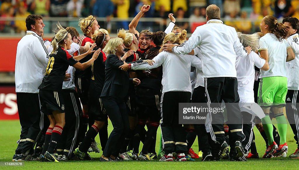 Sweden v Germany - UEFA Women's Euro 2013: Semi Final