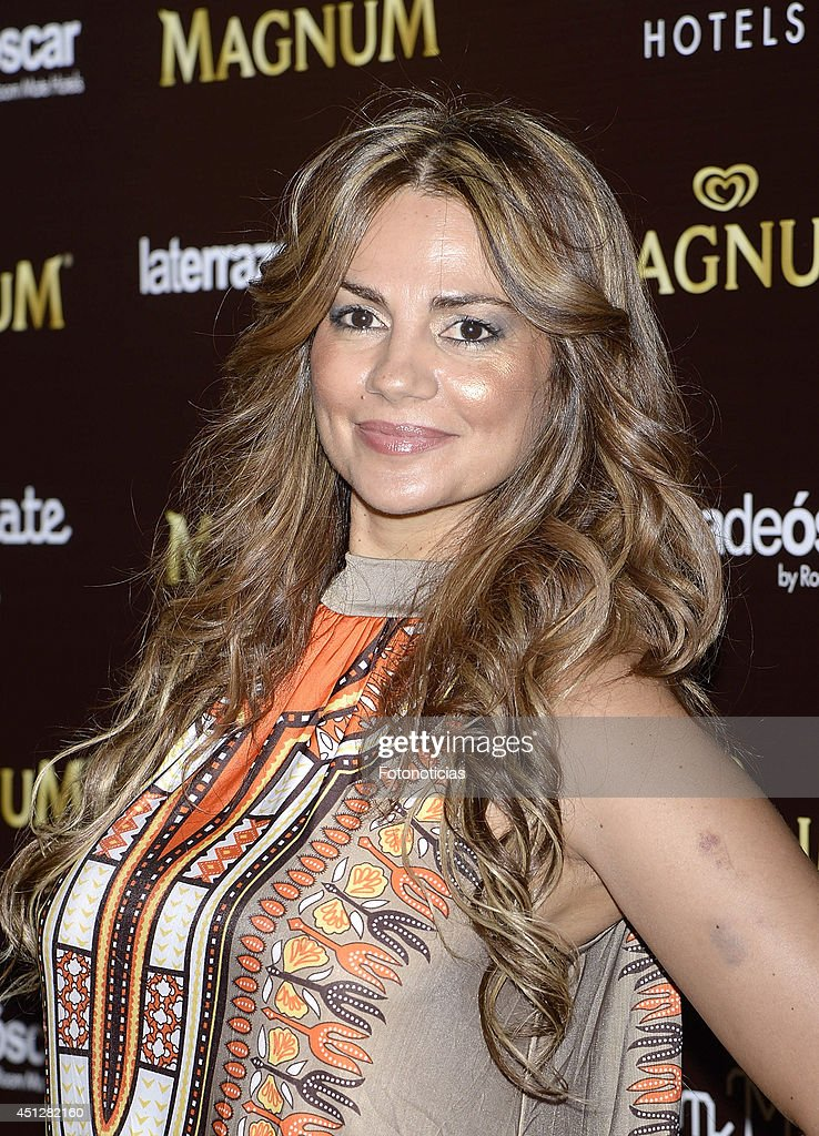 Silvia Pantoja attends the 'Chocolate Opening Party By Magnum' at the Room Mate Oscar Hotel on June 26, 2014 in Madrid, Spain.