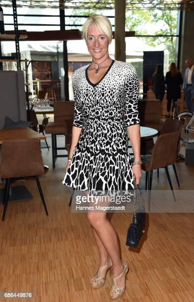 Silvia Rizzo attends the Pre Golf Party during the 9th Golf Charity Cup hosted by the Christoph Metzelder Foundation at the Jochen Schweizer Arena on...