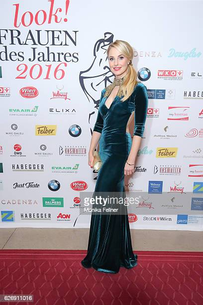 Silvia Schneider attends the Look Women of the Year Awards at City Hall on November 30 2016 in Vienna Austria