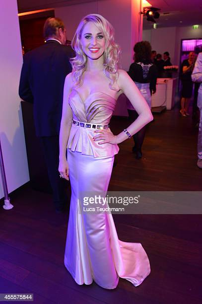 Silvia Schneider attends the 'Mein Star des Jahres 2014' awards at Kehrwieder Theater on September 16 2014 in Hamburg Germany
