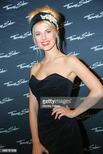Silvia Schneider attends the Thomas Sabo Brand Event at Park Hyatt on December 3 2015 in Vienna Austria