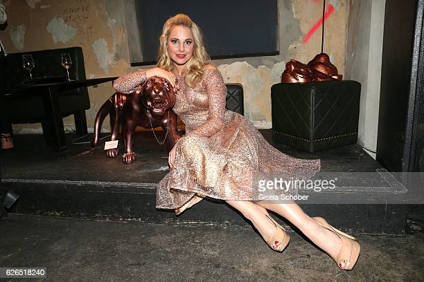 Silvia Schneider during the New Faces Award Style 2016 at 'The Grand' on November 16 2016 in Berlin Germany
