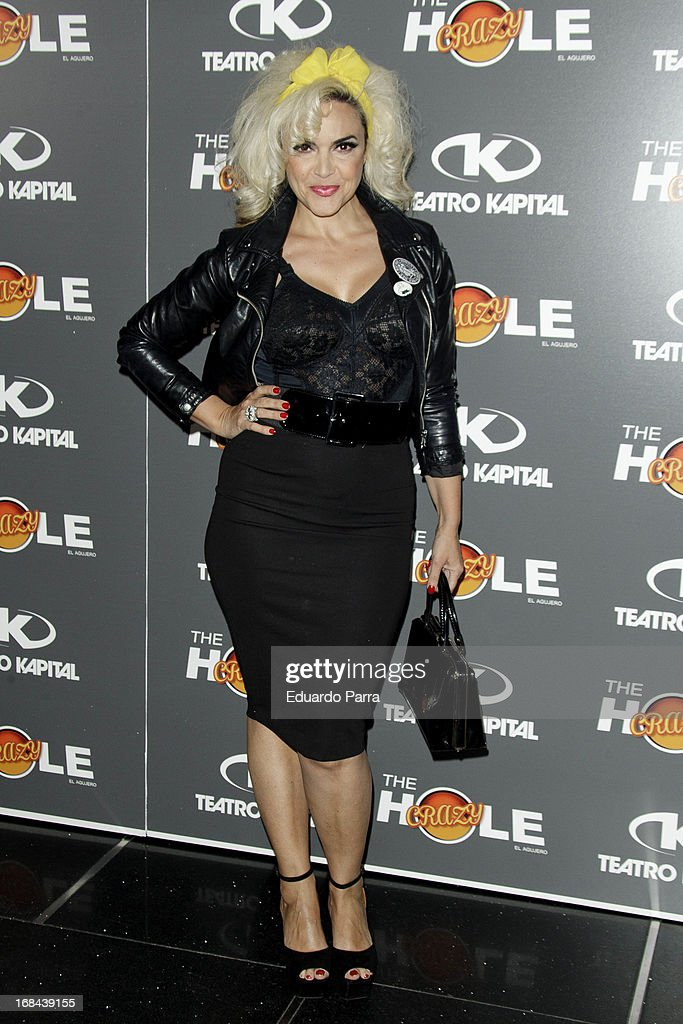 Silvia Superstar attends 'The crazy hole' premiere photocall at Kapital theatre on May 9, 2013 in Madrid, Spain.