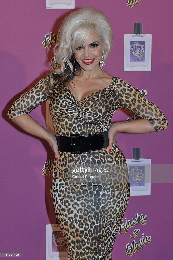 Silvia Superstar attends the presentation of the new fragrance from Alaska and Mario Vaquerizo in Madrid on November 7, 2013 in Madrid, Spain.